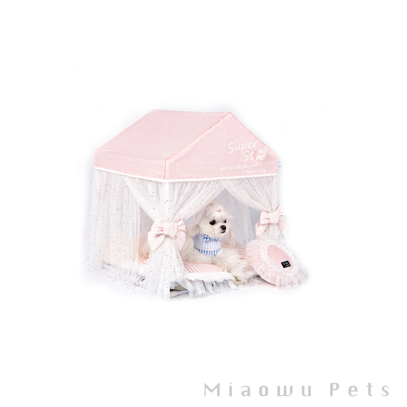Detachable indoor pet tent