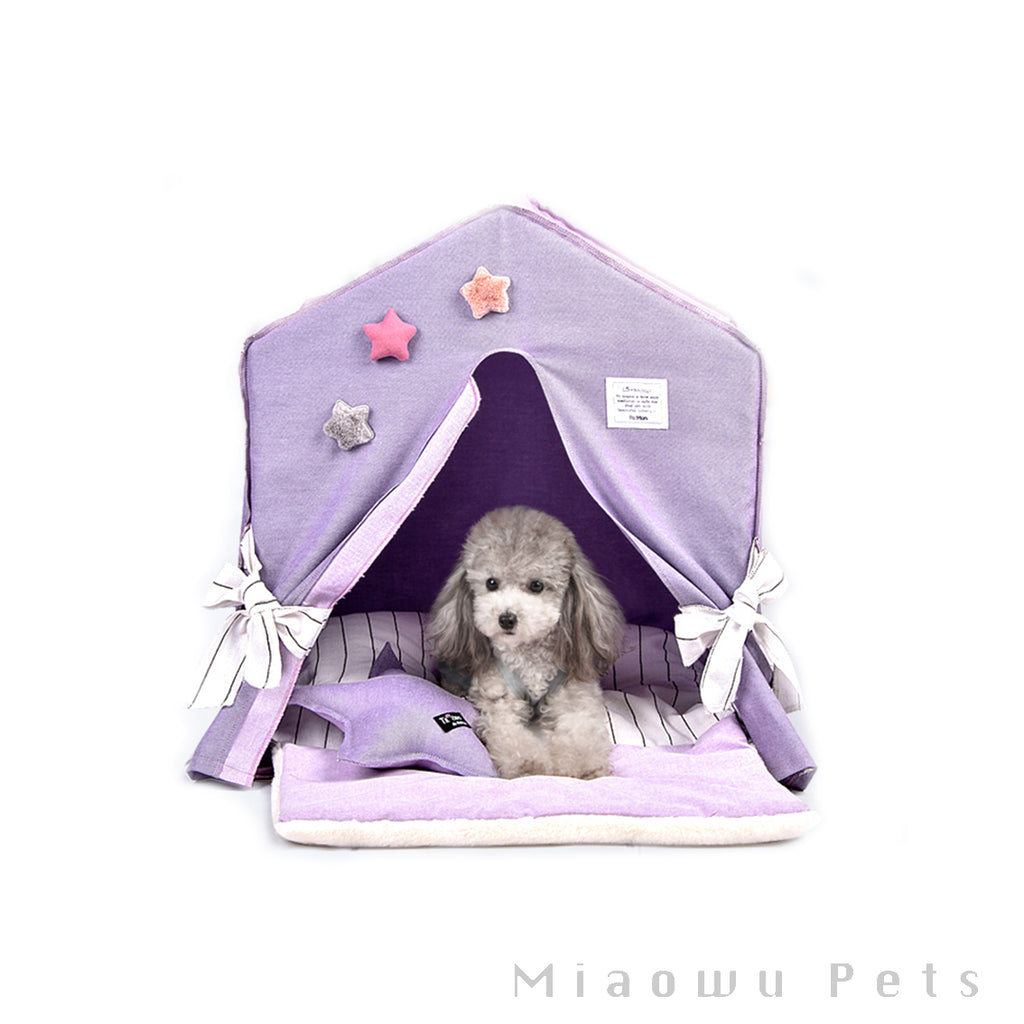 Star Detachable indoor pet tent