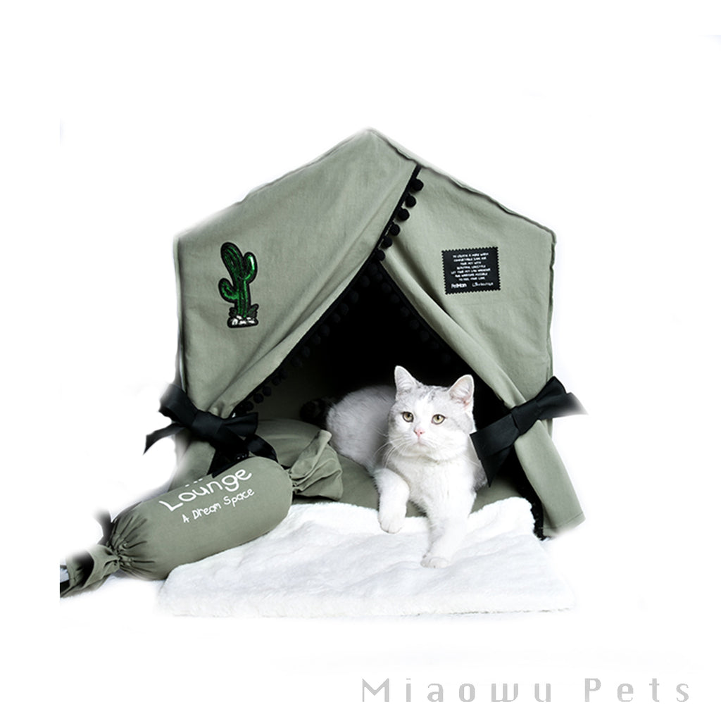 Cactus Detachable indoor pet tent
