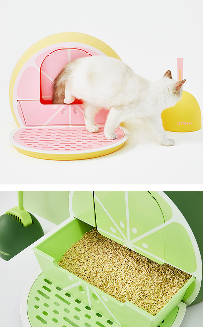 Vetreska Cat Litter Box