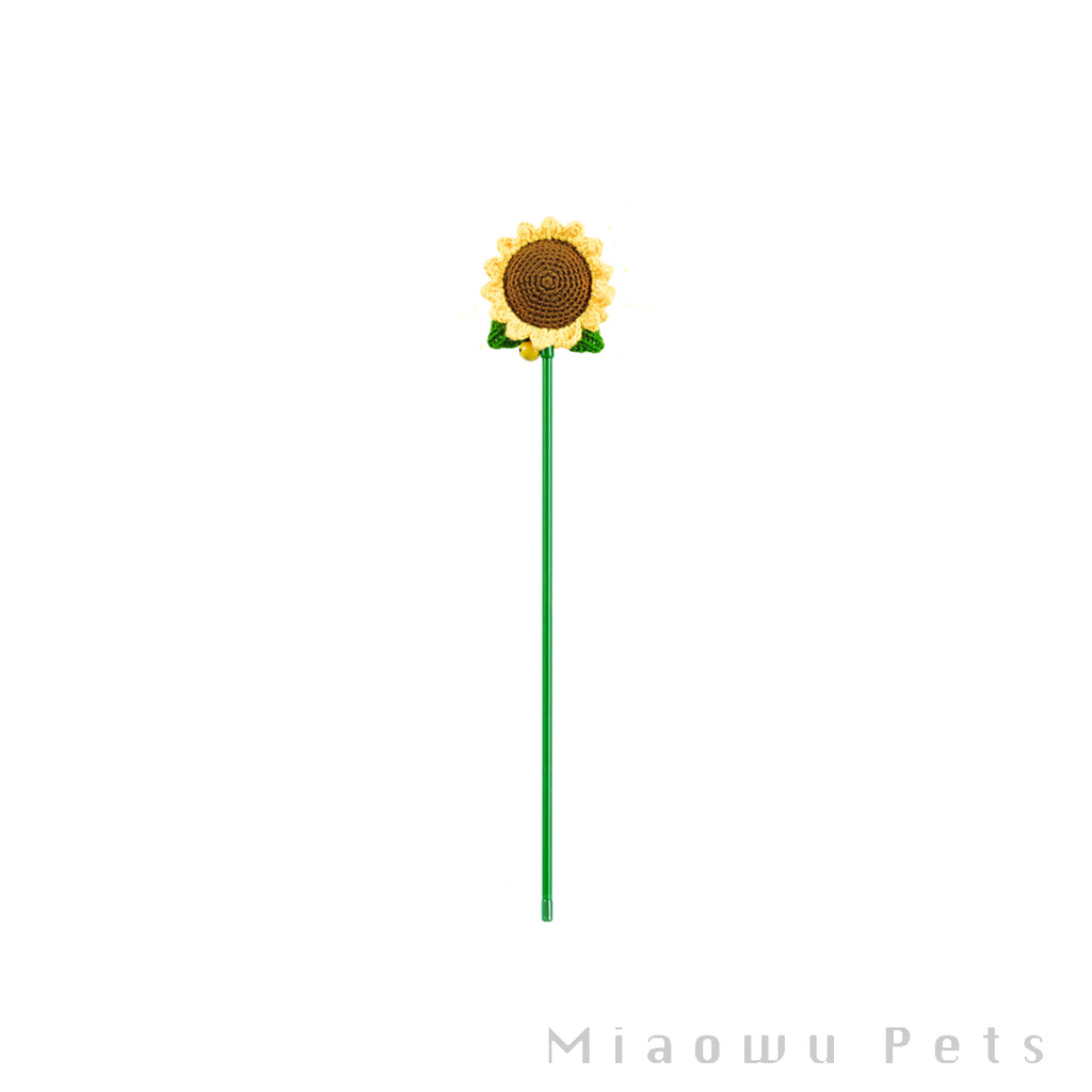 Sunflower cat stick