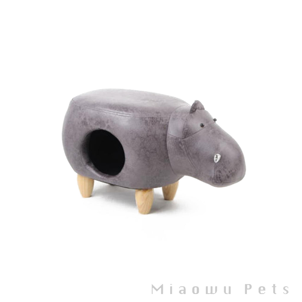 Zeze Hippo animal cat house