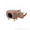 Zeze Rhinocero animal cat house