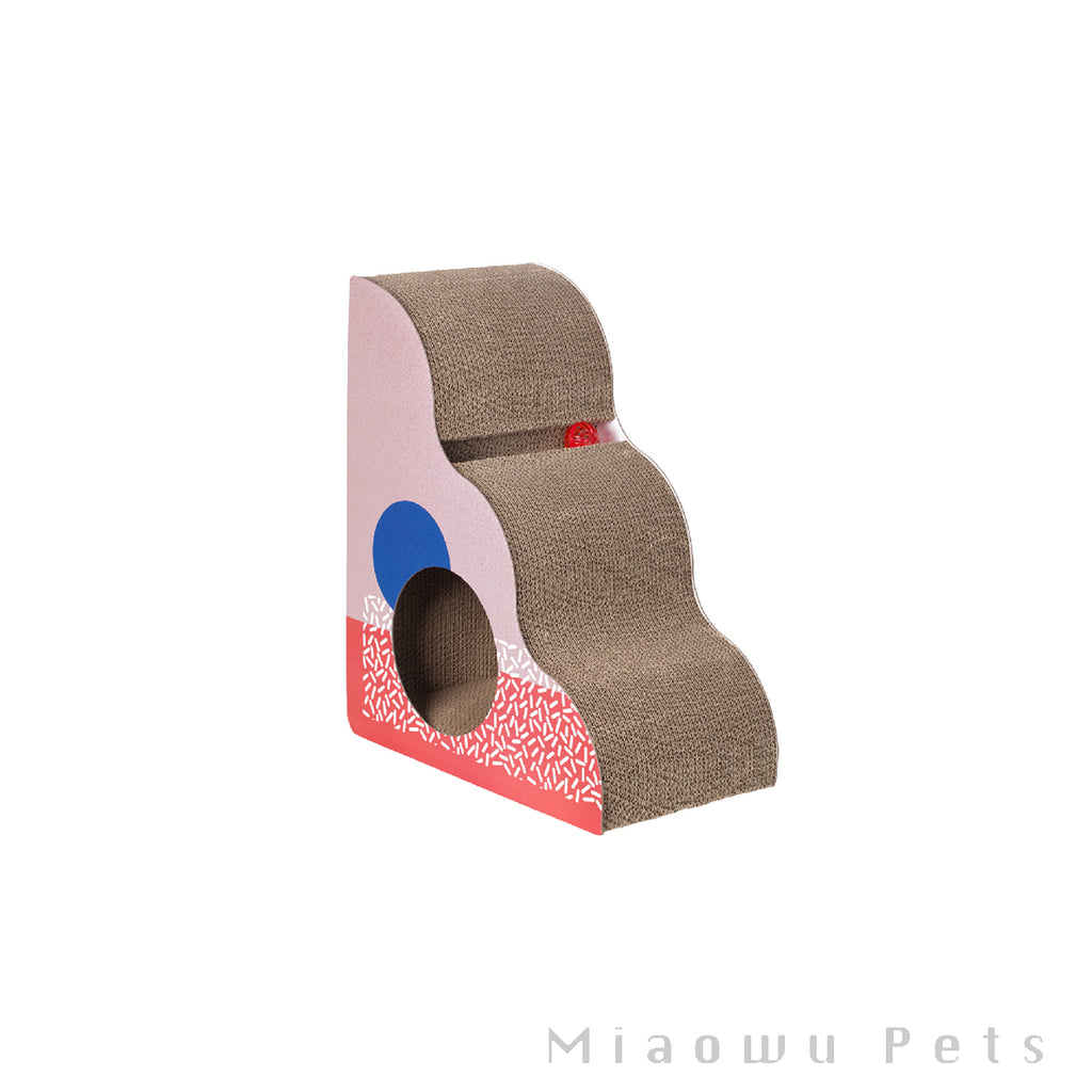Pidan Scratching Post for Pet Memphis Triangle type