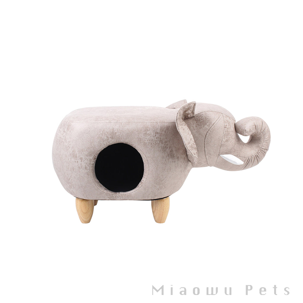 Zeze Elephant animal cat house