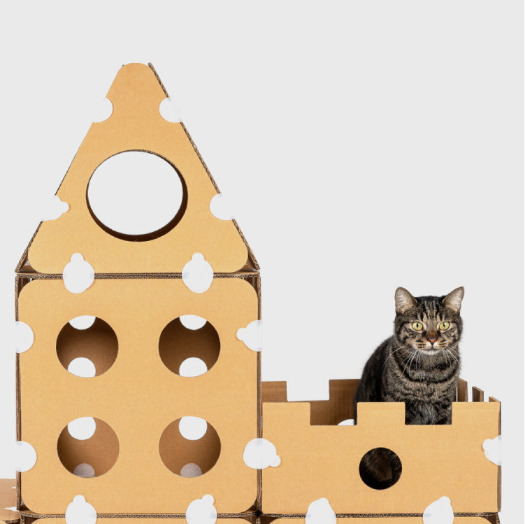 Pidan Cat tree Boxkitty Assembly