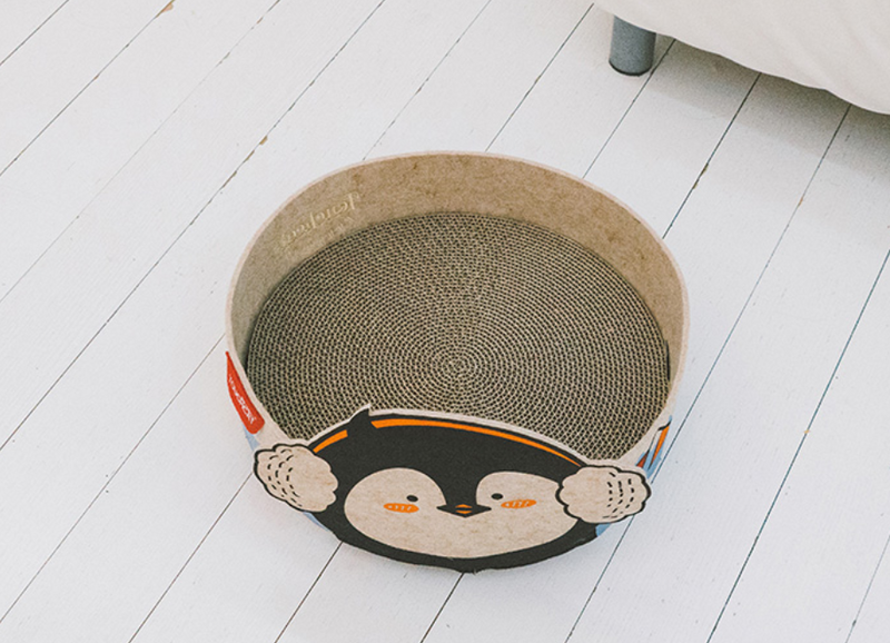 Touchdog zoo series cat scratching board