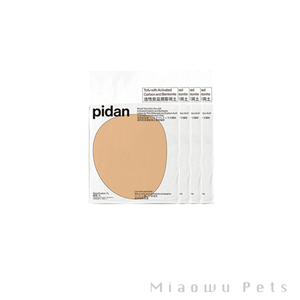 Pidan activated carbon mixed litter