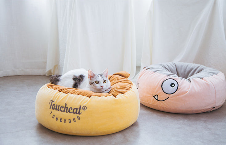 Touchcat pet body fit cushion
