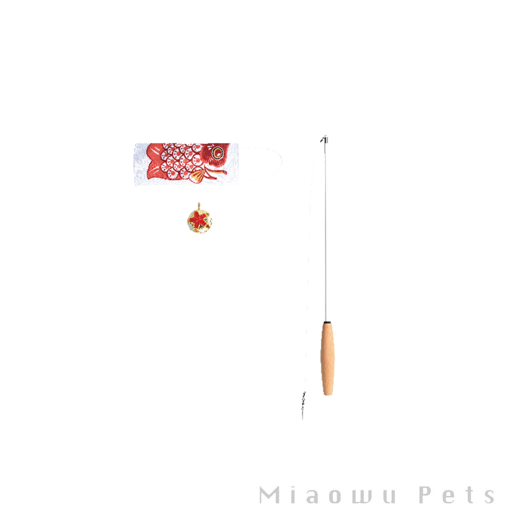 Carp streamer cat stick