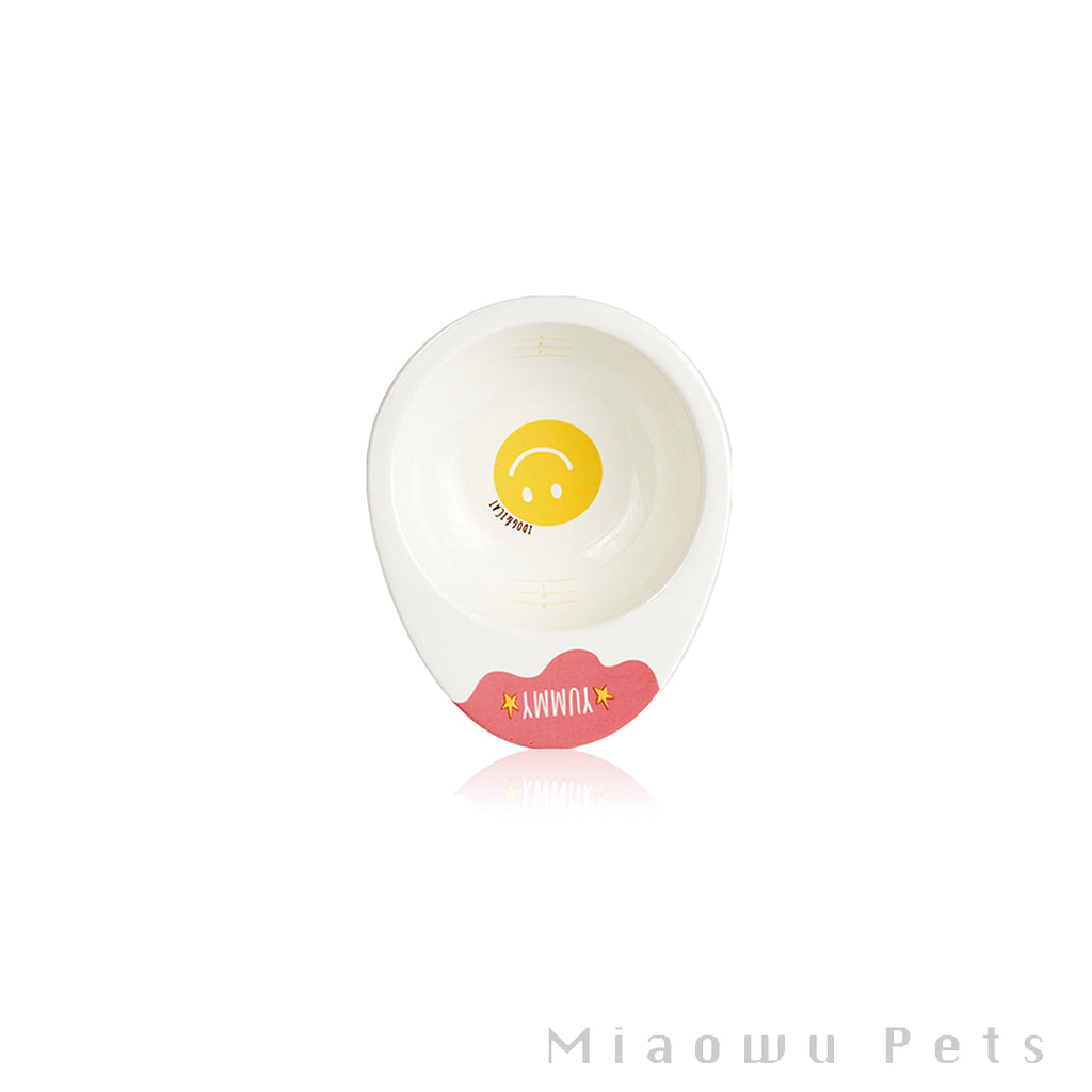 Egg Ceramic Pet Bowl
