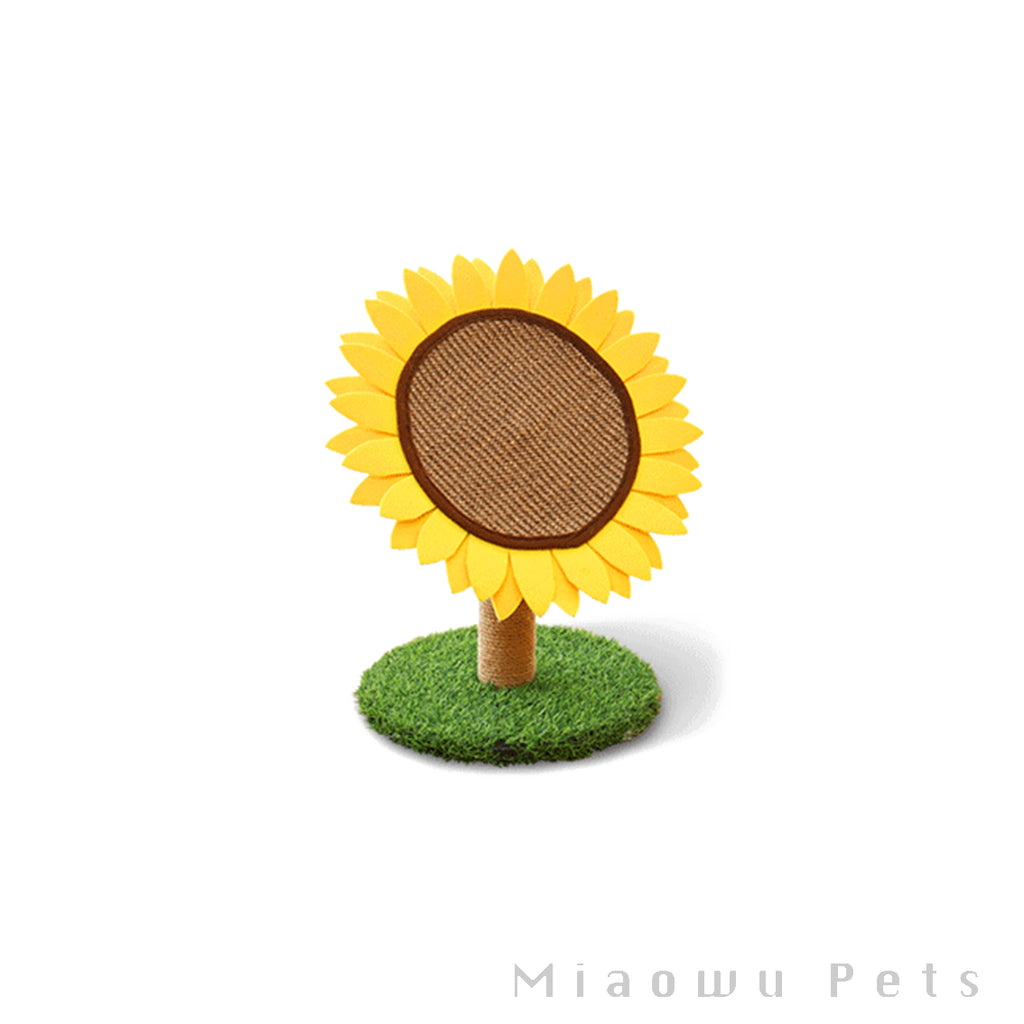 Sunflower Cat Scratcher