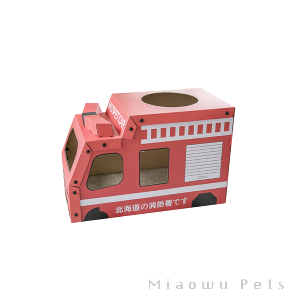 Fire Truck Cat Scratcher