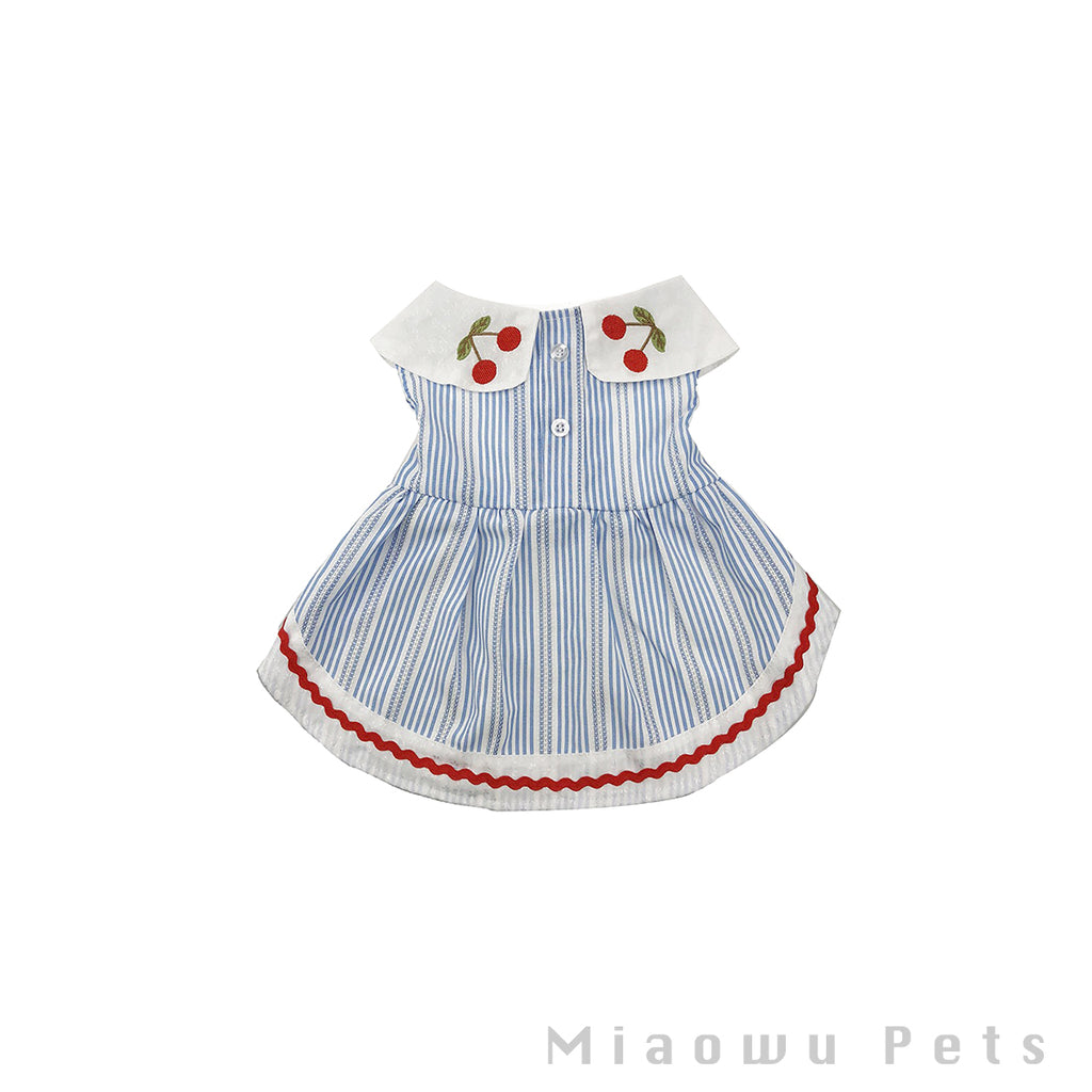 Pet cherry dress