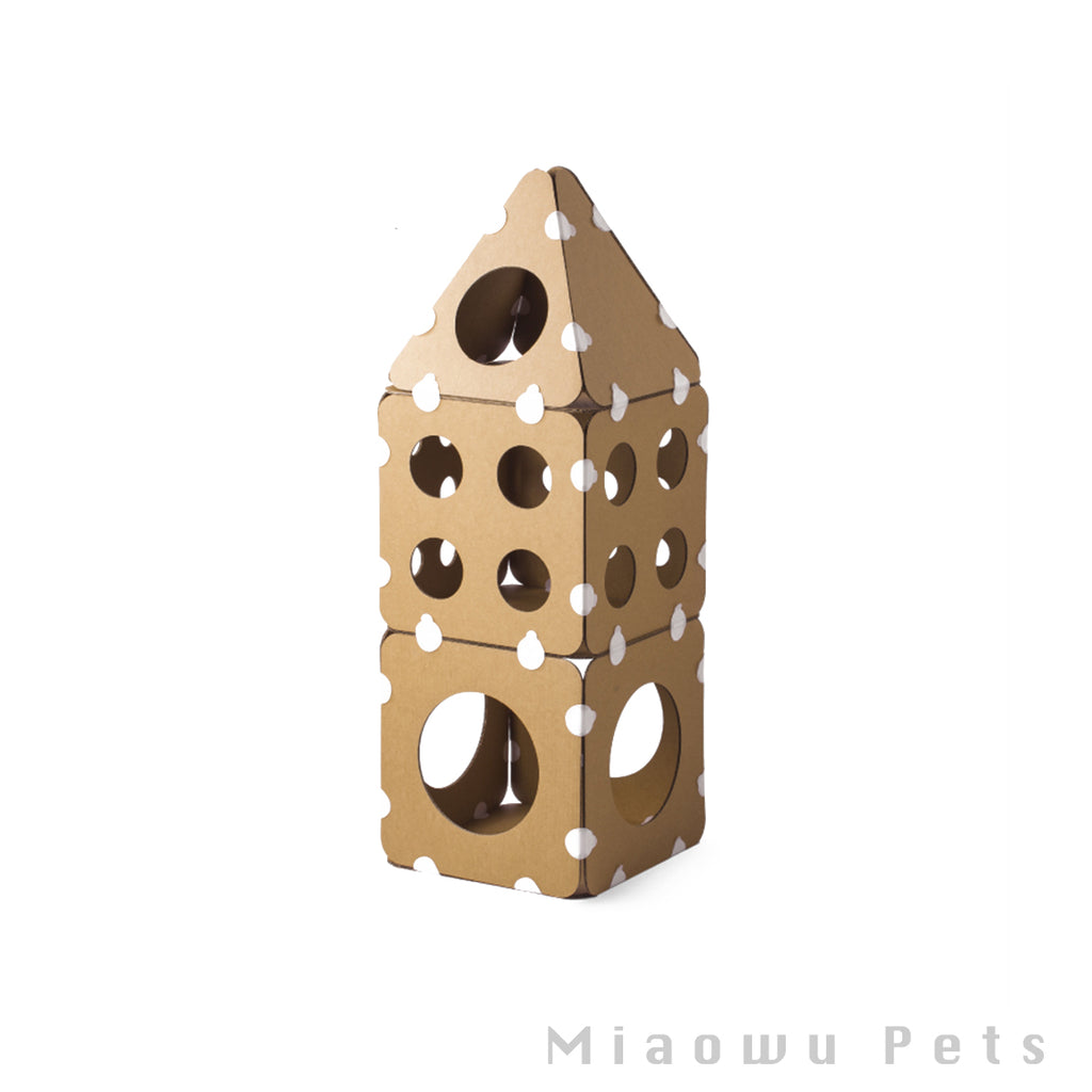 Pidan Cat tree Boxkitty Pinnacle