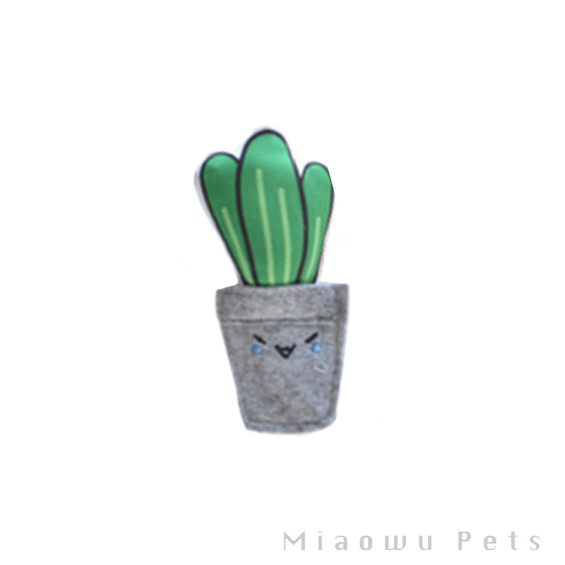 Cactus cat toy