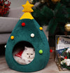 Zeze Christmas Tree Pet Bed