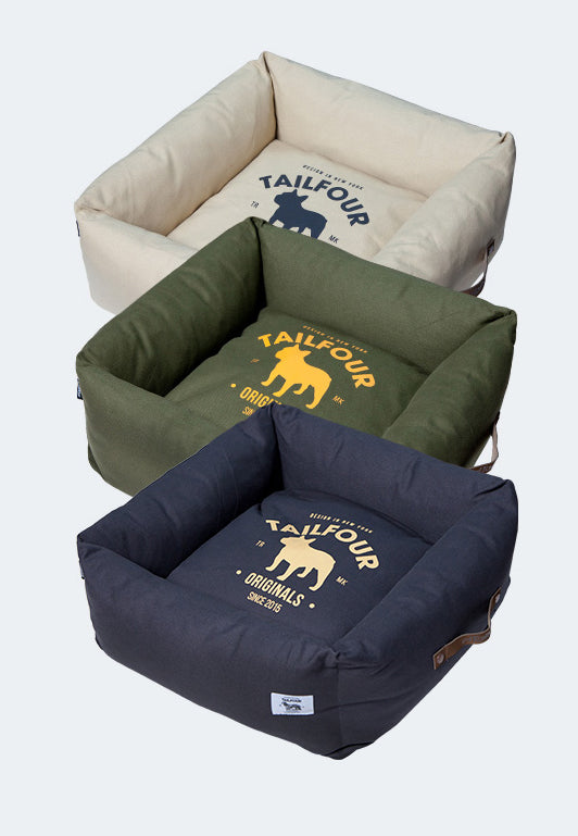 Touchdog disassembled pet bed
