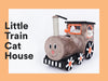 Zeze Little train cat house