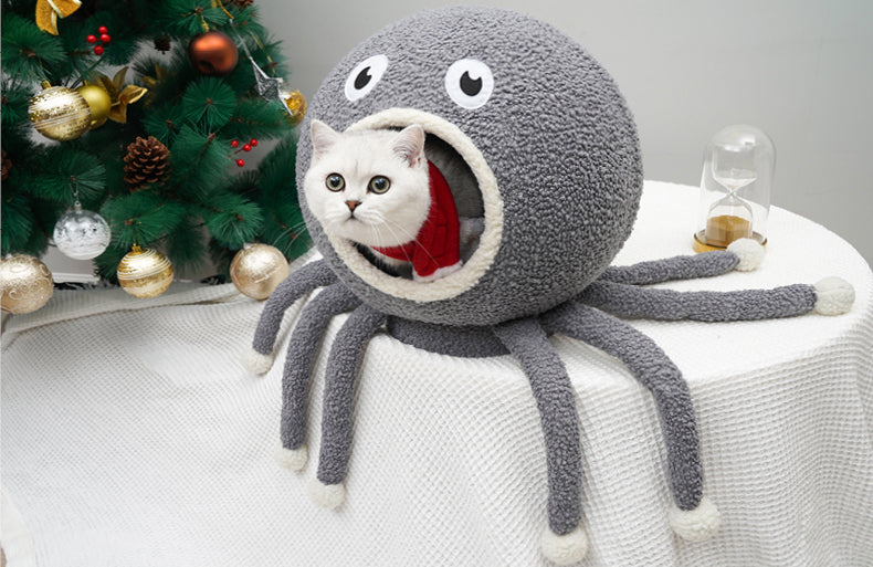 Zeze Squid shape cat house