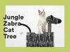 Zeze Jungle zebra cat tree