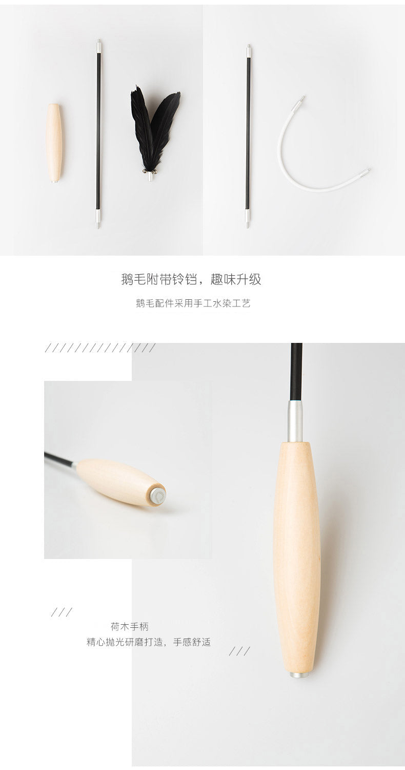 Pidan Teaser with Wooden Handle