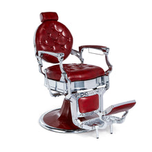 Load image into Gallery viewer, Barber Chair KIRK Red