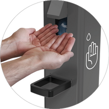 Load image into Gallery viewer, Foot Operated Sanitizer Dispenser