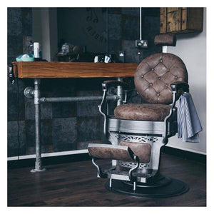 Vintage Barber Chair CLINT Black