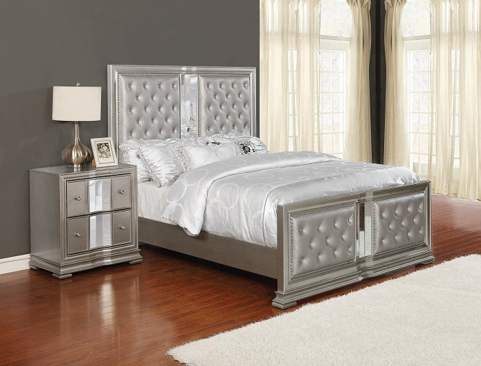 Luxury Bella Metallic Bed