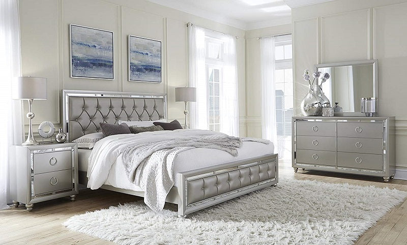 J Snow 4-Piece Bedroom Set