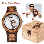 Elated Love Bamboo Wood Watch - 200034143 Free Shipping