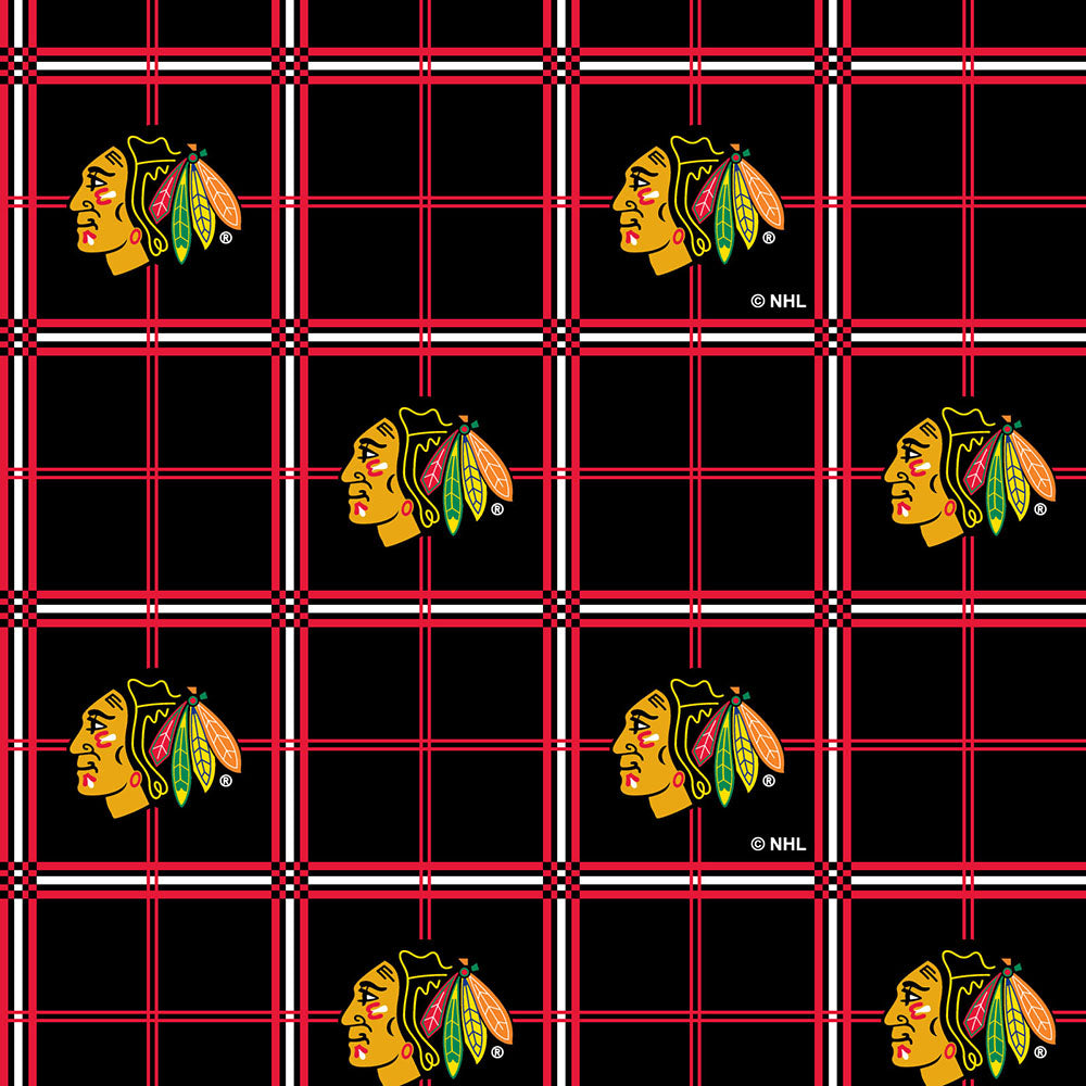 CHICAGO BLACKHAWKS-023 Flannel
