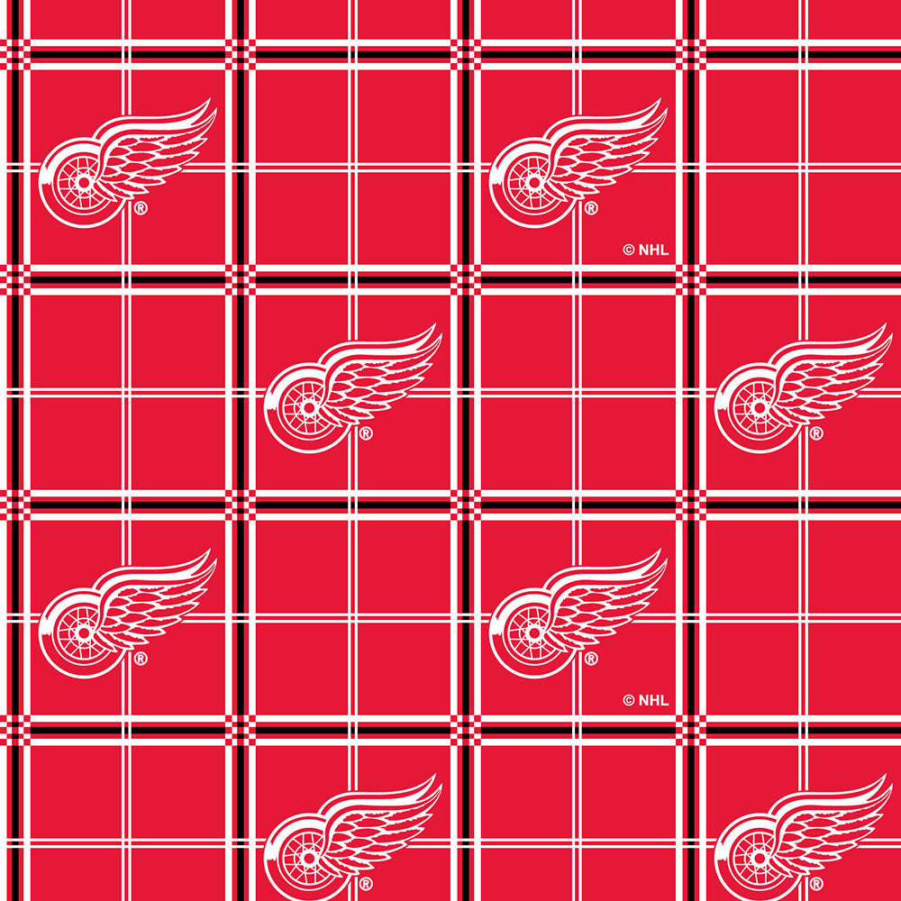 DETROIT RED WINGS-023 Flannel