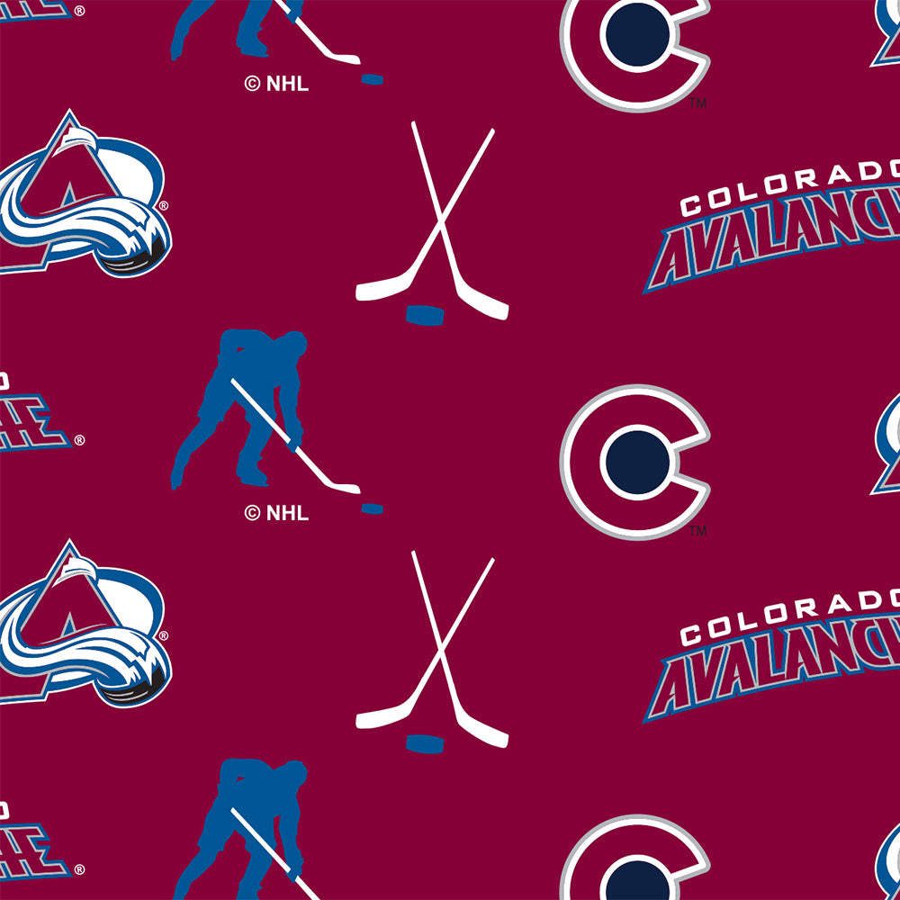 COLORADO AVALANCHE-035 Fleece