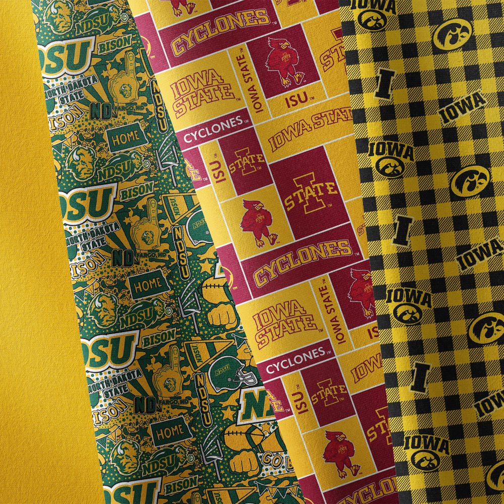 #05 YELLOW-MIDAS TOUCH SOLIDS Cotton