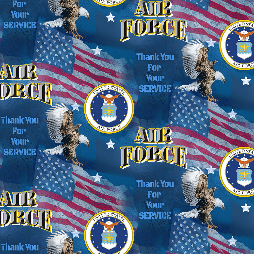 MILITARY AIR FORCE MILITARY FLAGS-1254 AF Cotton