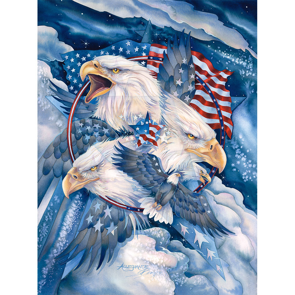 MILITARY EAGLE COTTON PANEL-8703