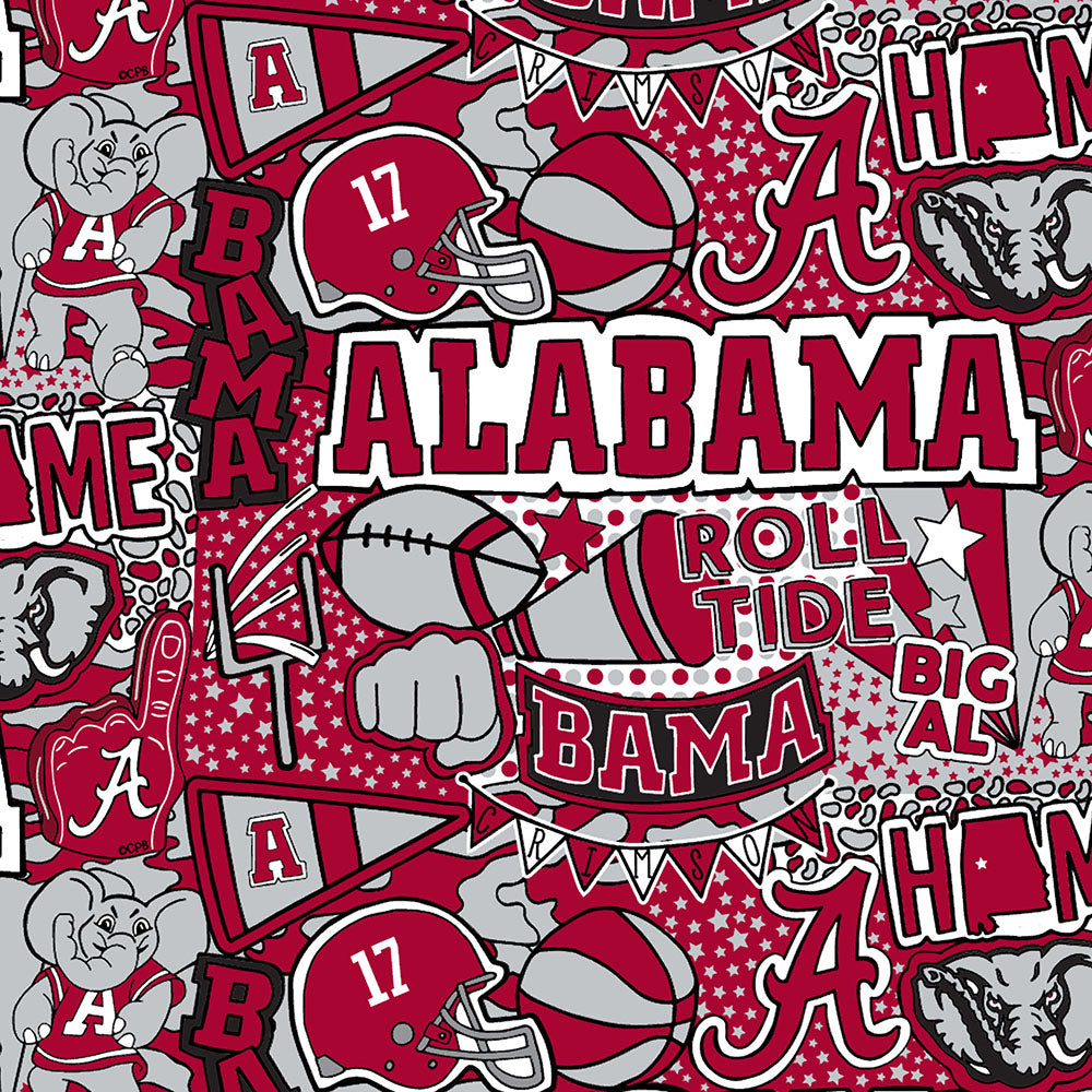 UNIV. OF ALABAMA-1165 Cotton / ARTWORK BY COREY PAIGE