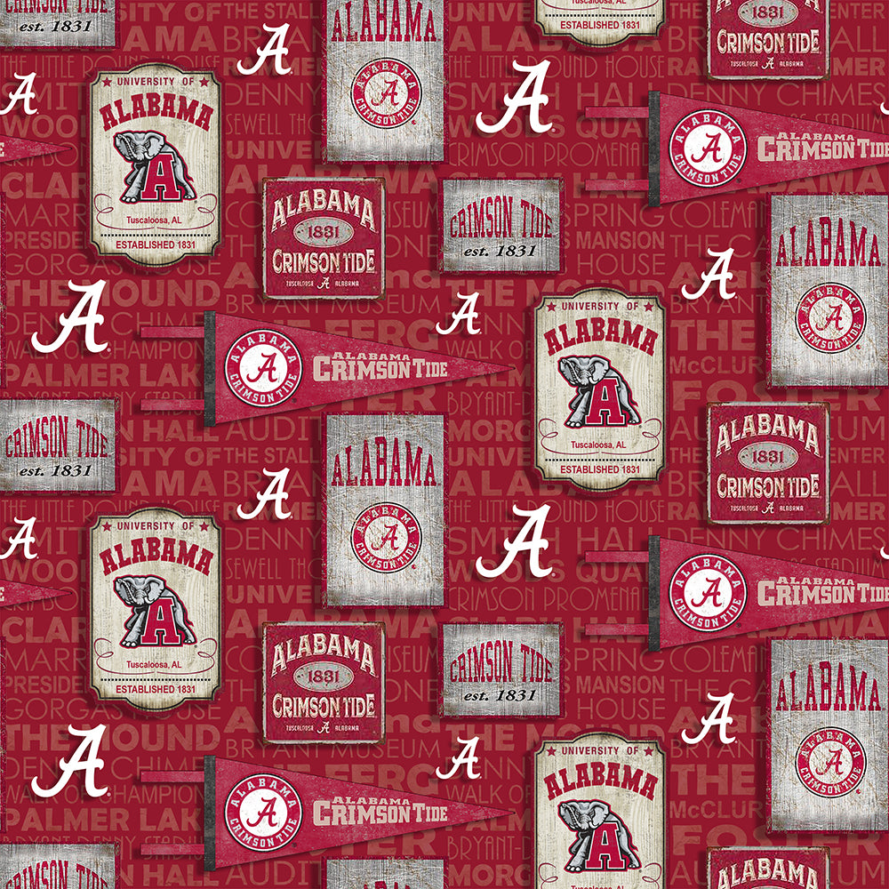 UNIV. OF ALABAMA-1267 Cotton
