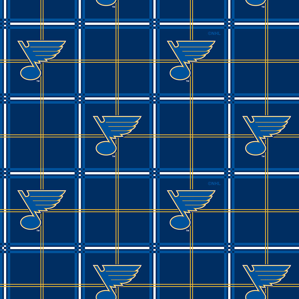 ST. LOUIS BLUES-023 Flannel
