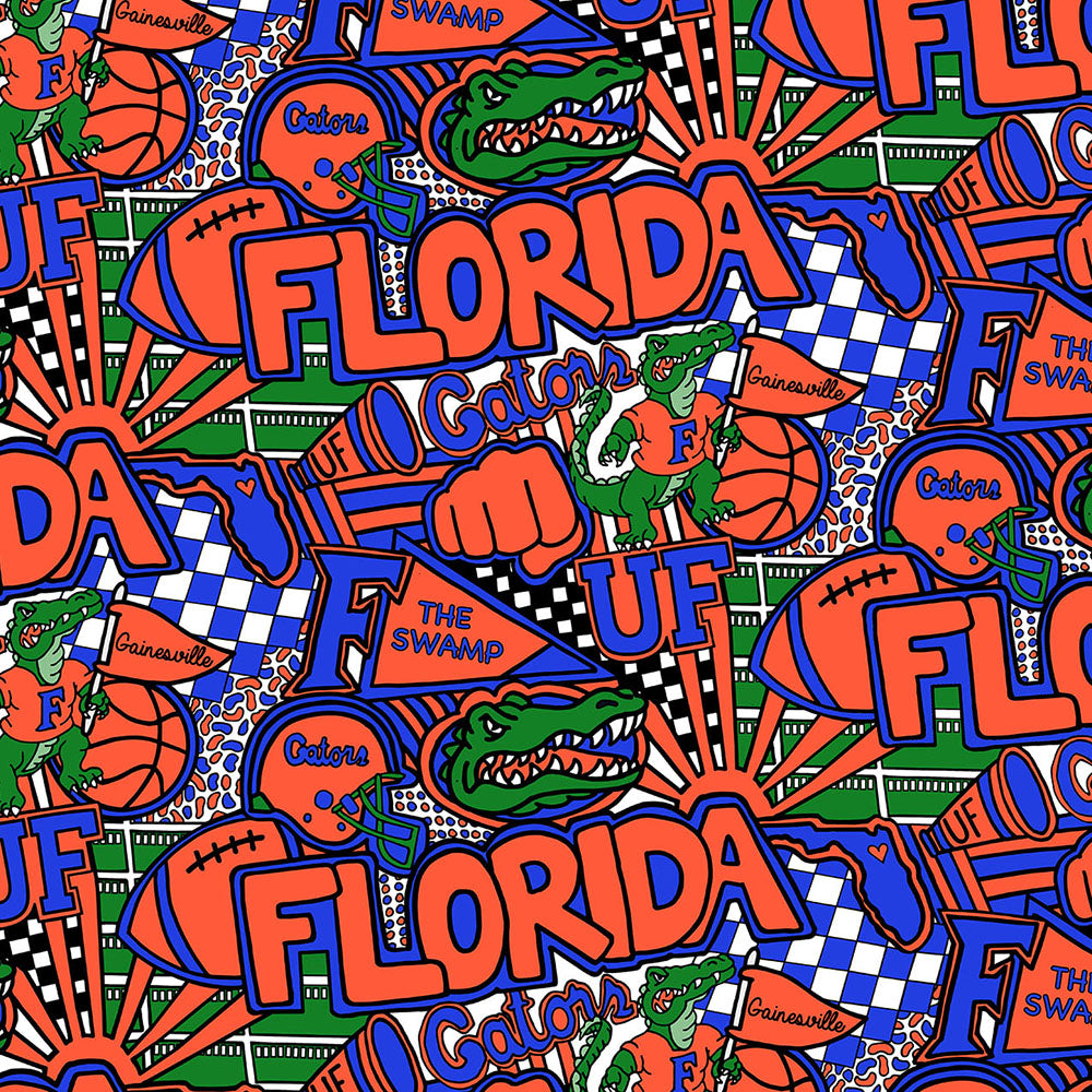 UNIV. OF FLORIDA-1165 Cotton / ARTWORK BY COREY PAIGE