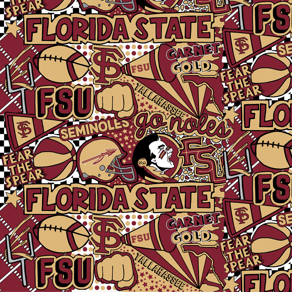 FLORIDA STATE UNIVERSITY-1165 ARTWORK BY COREY PAIGE