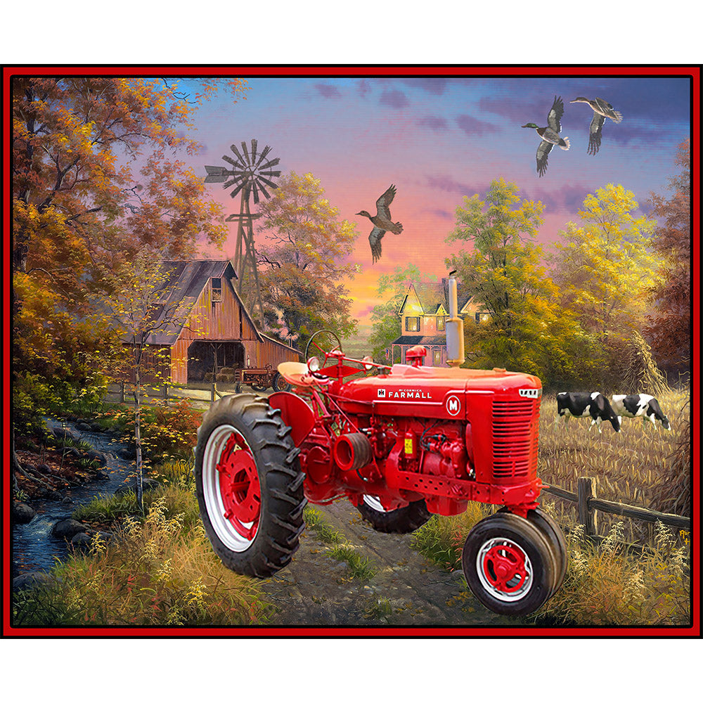 FARMALL / COUNTRY LIVING COTTON PANEL-10293
