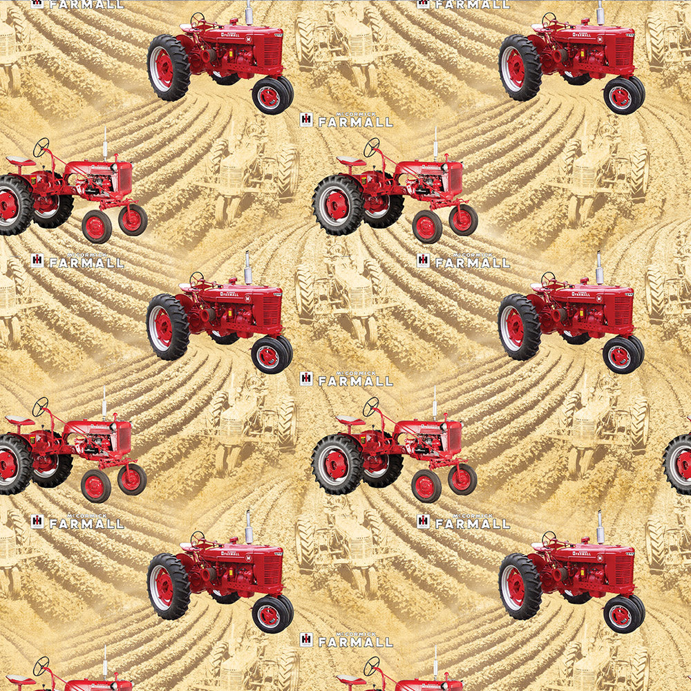 FARMALL FIELDS-WHEAT / COUNTRY LIVING-10295-Wheat Cotton