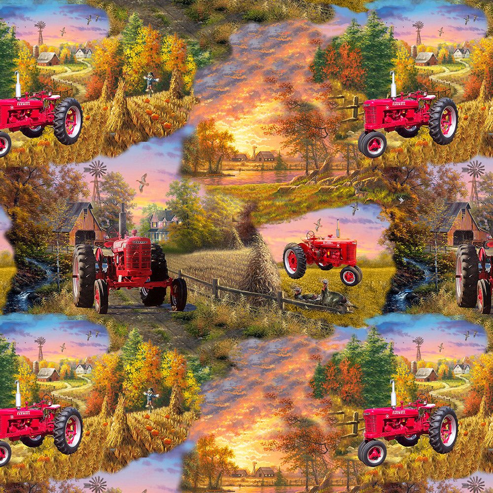 FARMALL SCENIC / COUNTRY LIVING-10297 Cotton
