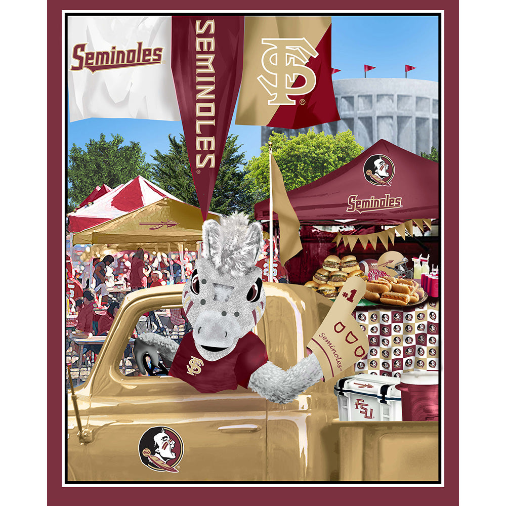 FLORIDA STATE UNIVERSITY-1157 Tailgate Cotton Panel