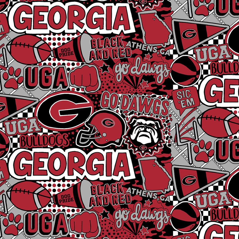 UNIV. OF GEORGIA-1165 Cotton / ARTWORK BY COREY PAIGE