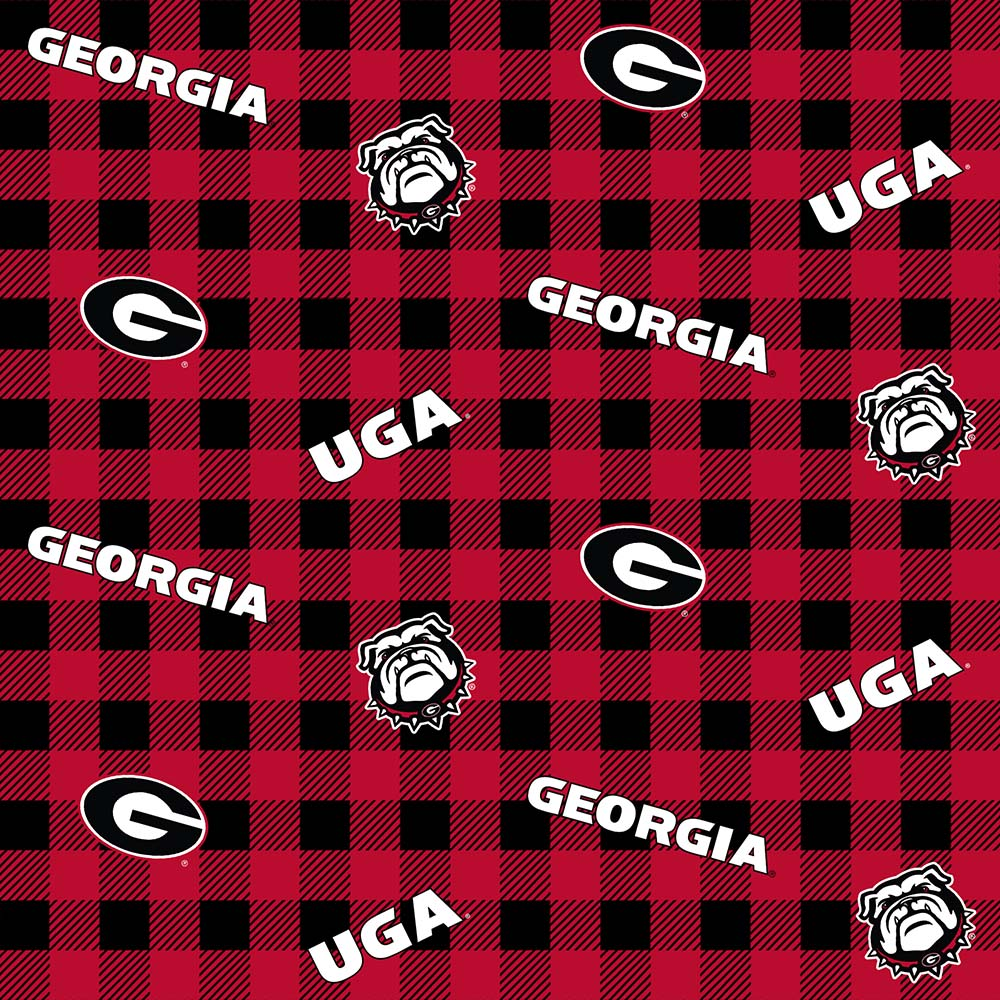 UNIV. OF GEORGIA-1192 Flannel
