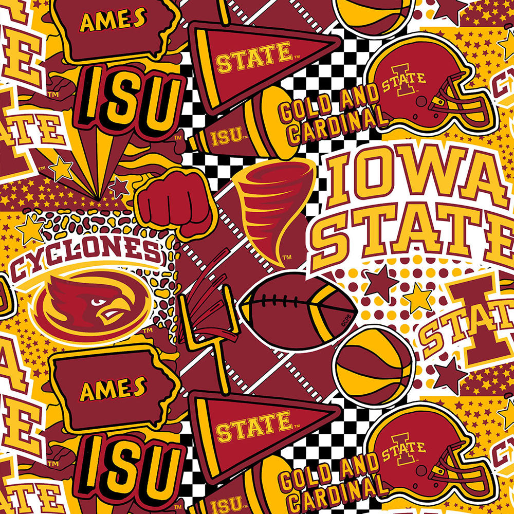 IOWA STATE UNIVERSITY-1165 ARTWORK BY COREY PAIGE